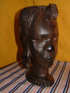 sculpture en bois d'ebayne