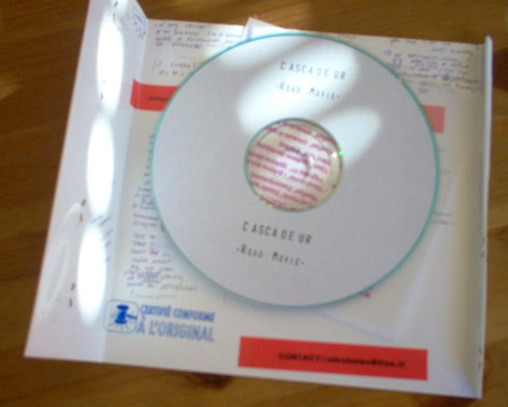 y a même un disque dedans...