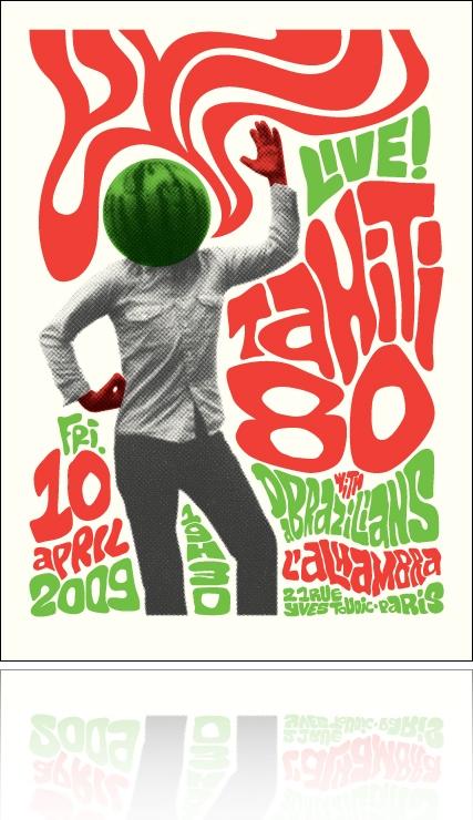 Affiche Tahiti 80 @ L'Alhambra